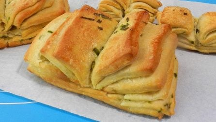 Panini ventaglio: la ricetta sfiziosa e davvero saporita