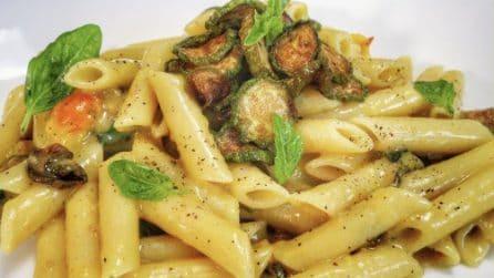 Pennette con zucchine e pomodorini: la ricetta del primo piatto semplice e pieno di gusto