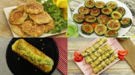 4 Ricette semplici, veloci e gustose che puoi preparare con le zucchine!