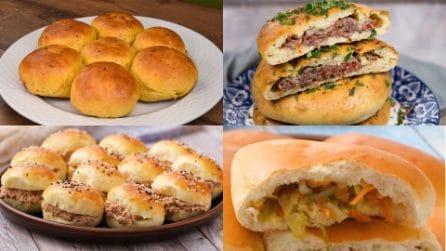 4 Ricette per fare dei panini soffici, golosi e ripieni!