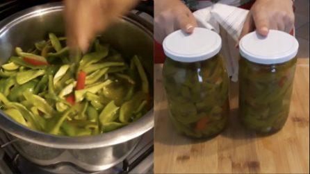 Peperoncini verdi in agrodolce: la ricetta del contorno gustoso sempre pronto