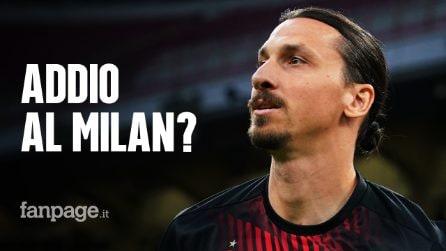 """Zlatan Ibrahimovic prepara l'addio al Milan: """"Può essere stata una delle mie ultime partite"""""""