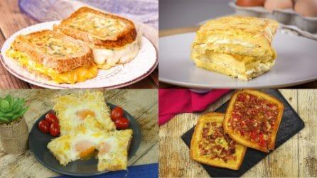 4 Ricette gustose, facili e veloci che puoi realizzare con le uova!