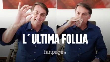 L'ultima follia di Bolsonaro: si cura con l'idrossiclorochina, che non funziona