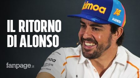 Fernando Alonso torna in F1, è ufficiale: dal 2021 sarà il nuovo pilota della Renault
