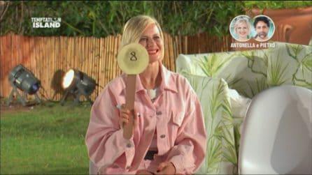 Temptation Island 2020, Antonella Elia vota i single