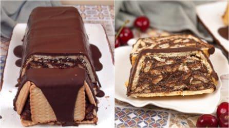 Tronchetto di biscotti e cioccolato: la ricetta golosa che piacerà a grandi e piccini!