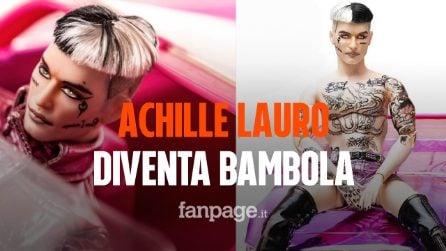 """Achille Lauro diventa una bambola: la provocazione per il lancio di """"1990"""""""