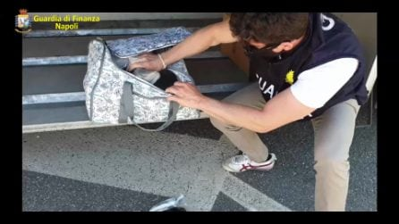 Napoli, sequestrati 17 chili di cocaina purissima proveniente dall'Olanda
