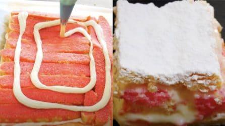 Quadrotti di diplomatico: il delizioso dessert in versione mini