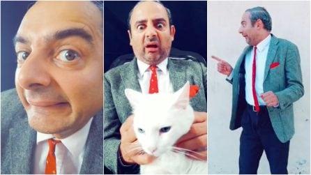 Il sosia di Mr Bean è italiano: Arnaldo ha vinto la depressione col potere del sorriso