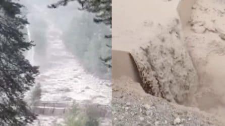 Maltempo in Alto Adige: forti piogge e frane