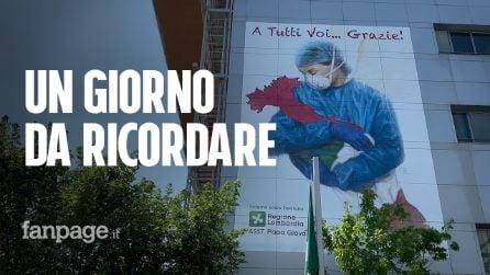 """Bergamo, il giorno senza Covid in Terapia intensiva: """"A marzo era piena, il mondo non capiva"""""""