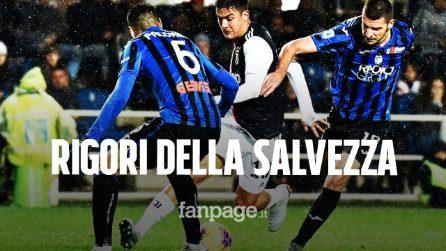 Juventus-Atalanta 2-2: Atalanta coraggiosa fermata da Ronaldo sui rigori
