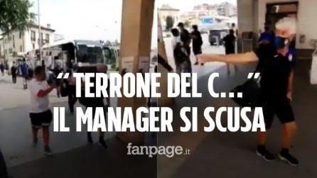 """""""Terrone del c…"""" il team manager dell'Atalanta si scusa per l'insulto razzista al tifoso del Napoli"""