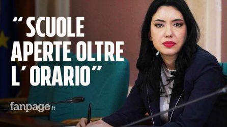 """Ministra Azzolina: """"A settembre scuole aperte anche dopo l'orario delle lezioni"""""""