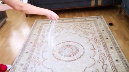 Macchie sul tappeto: il metodo naturale per riaverlo come nuovo