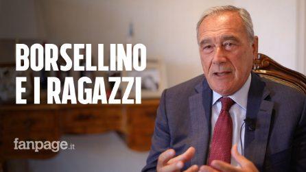 """Pietro Grasso: """"Trent'anni dopo prendo in mano la penna di Borsellino per spiegare la mafia ai giovani"""""""