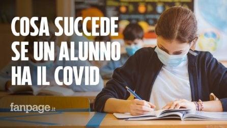 Scuola, cosa succede se un alunno prende il Covid