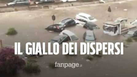 """Bomba d'acqua a Palermo, il giallo dei dispersi. Il comune: """"Nessuna vittima confermata"""""""