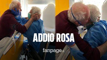 È morta Rosa, l'abbraccio con il marito Giorgio divenne simbolo di speranza durante la pandemia