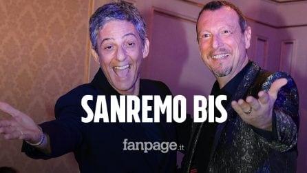 """Sanremo 2021, tornano Amadeus e Fiorello: """"Sarà il festival della normalità"""""""