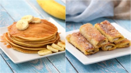 2 ricette con la banana troppo golose per non provarle!