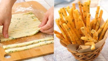 Sticks di patate: perfetti come antipasto o per un aperitivo sfizioso!