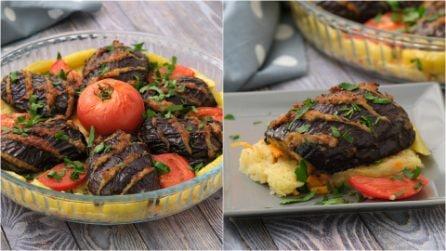 Melanzane ripiene di carne: la ricetta facile e sfiziosa per una cena piena di gusto!