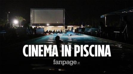 """Nasce il primo cinema in piscina, un film al fresco e in tranquillità: """"Un'alternativa al Drive in"""""""