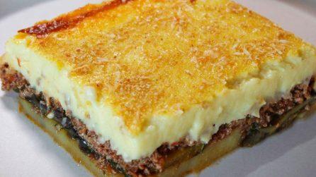 Moussaka, la tradizionale e deliziosa ricetta greca