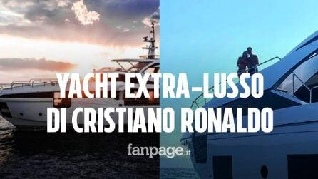 Cristiano Ronaldo e le vacanze sullo yacht extra-lusso con Georgina: ma quanto costa?