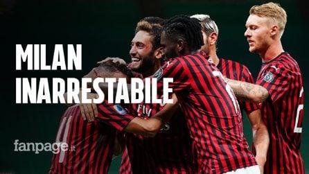 Milan-Bologna 5-1: il Diavolo non si ferma più e si avvicina al quinto posto