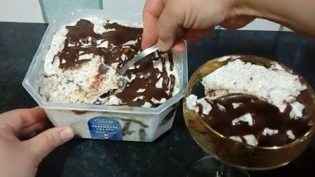 Gelato furbo di biscotti: la ricetta cremosa e golosissima