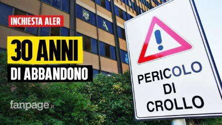 """Edifici Aler abbandonati da anni a Pieve Emanuele, i residenti della zona: """"Vorremmo abbatterli noi"""""""