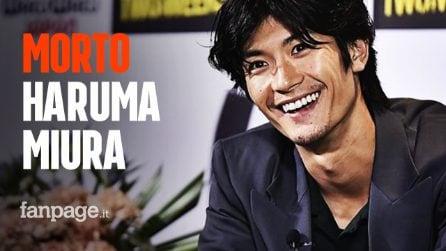 Morto Haruma Miura, l'attore 30enne si sarebbe suicidato nella sua abitazione
