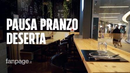 """Milano, ristoranti e bar in crisi nera: """"Metà dei clienti è scomparsa, colpa dello smartworking"""""""