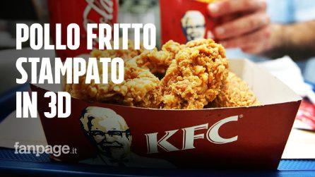 KFC vuole stampare crocchette di pollo in 3D: così si risparmieranno gli animali