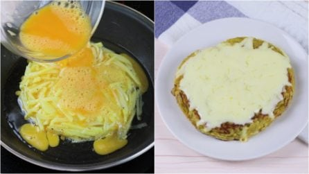 Potato omelette: a unique idea that will surprise everyone!