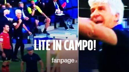 """Mihajlovic e Gasperini, lite furibonda in campo: """"Non rompere il cazzo… vaffanculo"""""""