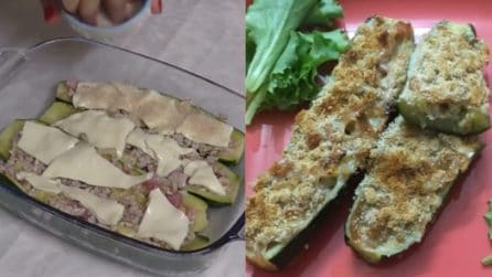 Zucchine ripiene al forno: la ricetta del contorno ricco e saporito