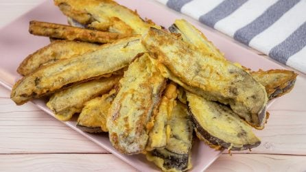 Eggplant sticks: a side dish perfect for a family dinner!