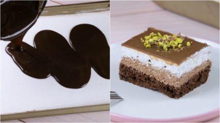 Merendine panna e cioccolato: perfette per una merenda golosa!