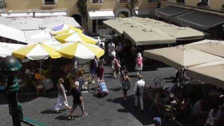 Coronavirus, paura a Capri: positivi 3 ragazzi romani in vacanza