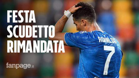 Juventus, festa scudetto rimandata e Cristiano Ronaldo superato da Immobile