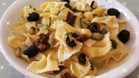 Farfalle all'insalata: il primo piatto fresco perfetto per l'estate