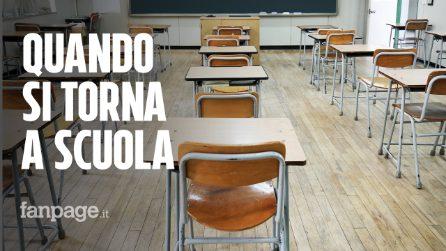 Scuola, quando inizia: il calendario del ritorno tra i banchi a settembre regione per regione