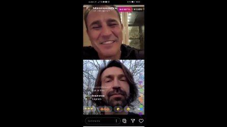 """Come giocherà la Juventus di Pirlo? L'aveva raccontato a Cannavaro: """"Mi piace il 4-3-3"""""""