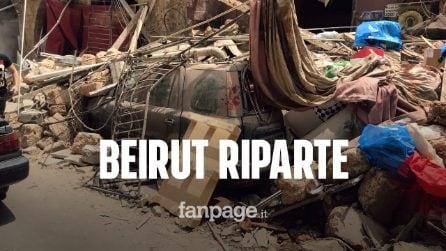 """Beirut, cooperante italiano: """"Ci siamo rimboccati le maniche per dare una mano a ripulire le strade"""""""