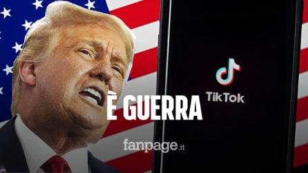 Trump bandirà TikTok dagli USA il 20 settembre (se non lo compra Microsoft)